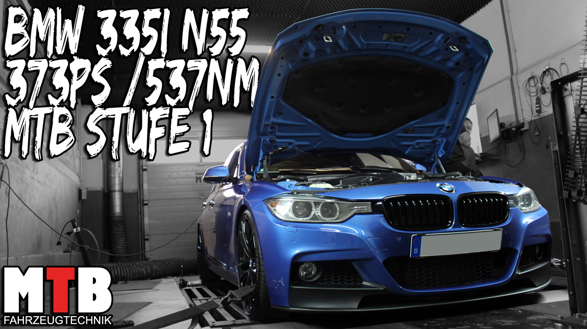 Stage 1 335i Basis 306PS auf 365PS